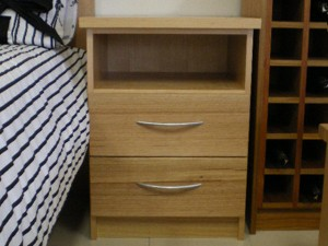 2 Drawer with Open Top
