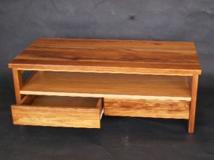 Large Double Drawer Coffee Table